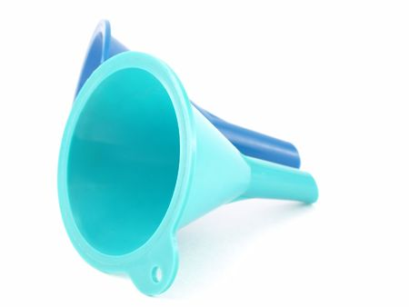 Two color funnels