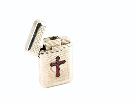 Lighter with cross photo
