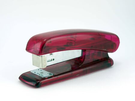 Pink stapler Stock Photo - 6117287