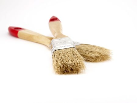 Two paint brushes Stock Photo - 6396031