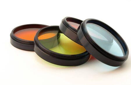 Filter for lenses Stock Photo
