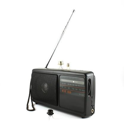 Pocket radio and transistors photo