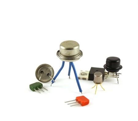 電子部品 - トランジスタ 写真素材