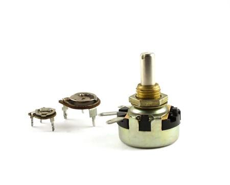 resistors: Electronic components - variable resistors