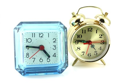 Two alarm clock Stock Photo - 7064777