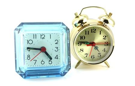 Two alarm clock Stock Photo - 7064777