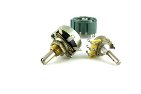 variable: Electronic components - variable resistors