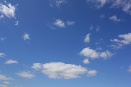 Blue sky with clouds Stock Photo - 7222530
