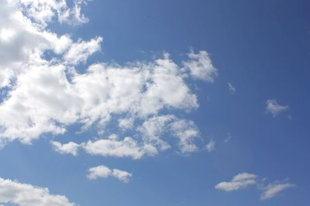 Blue sky with clouds Stock Photo - 7222541