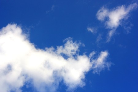 Blue sky with clouds Stock Photo - 7702731