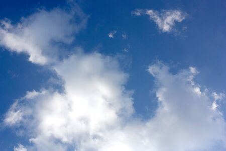 Blue sky with clouds Stock Photo - 8110927