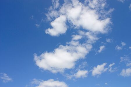 Blue sky with clouds Stock Photo - 8768226
