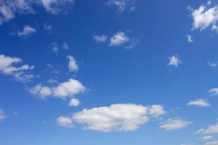 Image of sky: Bầu trời xanh với những đám mây Kho ảnh