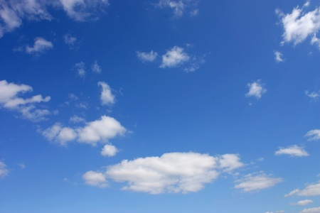 Blue sky with clouds Stock Photo - 8768225