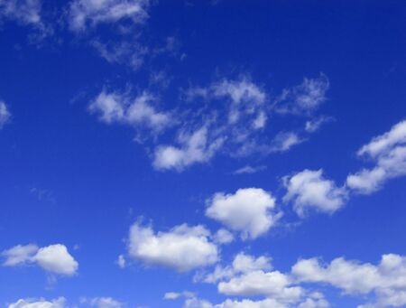 Blue sky with clouds Stock Photo - 9492561