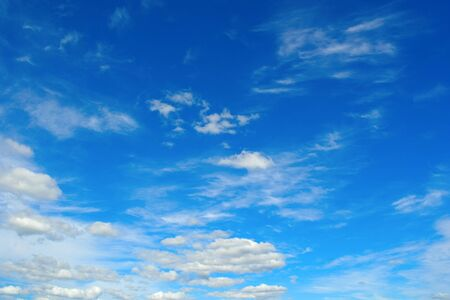 Beautiful blue sky with clouds Stock Photo - 11230502