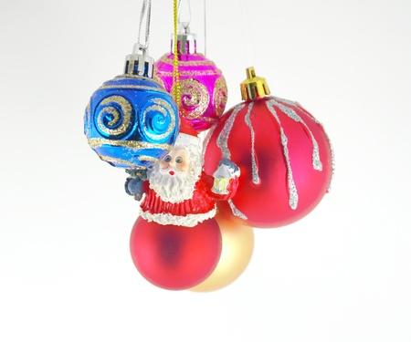 Multicolor christmas balls Stock Photo - 11409984
