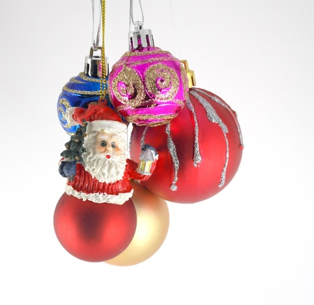 Multicolor christmas balls Stock Photo - 11410077