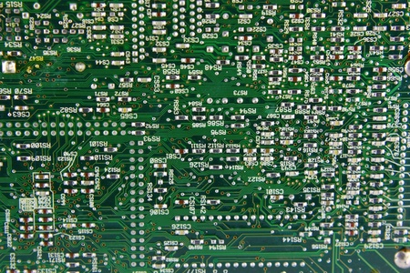 Abstract background with computer circuit board  photo