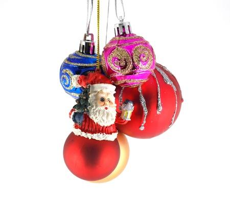 Multicolor christmas balls Stock Photo - 12395903