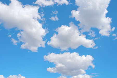 Beautiful blue sky with clouds Stock Photo - 16847737