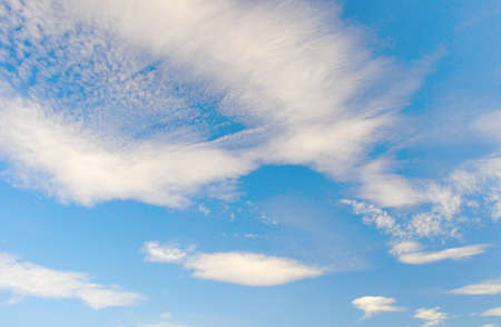 Beautiful blue sky with clouds Stock Photo - 16956838
