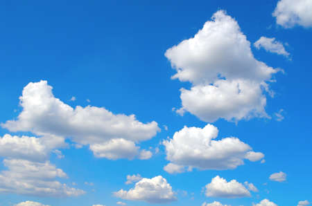 Beautiful blue sky with clouds Stock Photo - 16956794