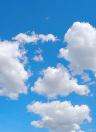 Beautiful blue sky with clouds Stock Photo - 16956799