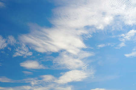 Beautiful blue sky with clouds Stock Photo - 17255852