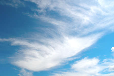 Beautiful blue sky with clouds Stock Photo - 17255854