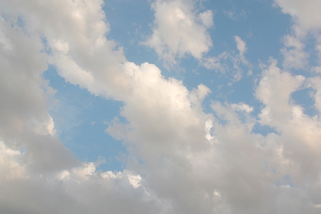 morning sky: Beautiful morning sky with clouds Archivio Fotografico