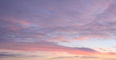 evening sky: Beautiful evening sky with clouds