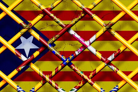 CATALONIA, SPAIN, 1 October 2017 - Spain forbids the referendum and secession in Catalonia.
