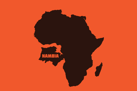 UN, NEW YORK, USA - NAMBIA Donald Trump misnamed Namibia in a UN speech, calling it 'Nambia' and thereby invents an entirely new African country. Editorial