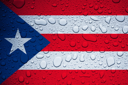 PUERTO RICO, CARIBBEAN, 23 September 2017 - Hurricane Maria leaves island under water. World weeps. Stock Photo - 89387986