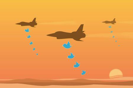 WASHINGTON, USA, 12 April 2018 - US President drops threatening tweets about bombing Syria.