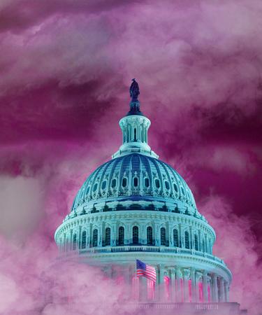 WASHINGTON, USA, 15 April 2018 - Washington forecast: Stormy.  Alleged Trump sexual adventures loom over Capital. Editorial