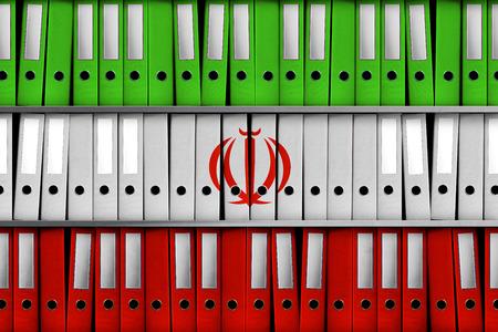TEL AVIV, ISRAEL, 30 April 2018 - 3D Rendering for Israel revealing 100 000 Iranian files on secret nuclear program.