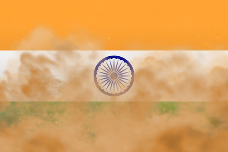 3D Rendering idea for the deadly dust storms striking Northern India.