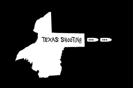 SANTA FE, TEXAS, USA, 18 May 2018 - Illustration for the multiple fatalities at Santa Fe school shooting.