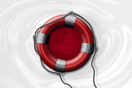 Illustration for rescue efforts in Japan during flooding.