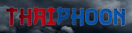 Idea for typhoon devastating Thailand.