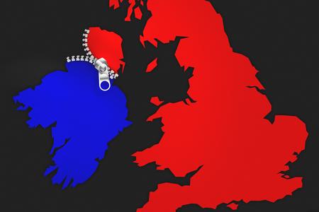 Illustration idea for Ireland being Brexitu2019s undoing.