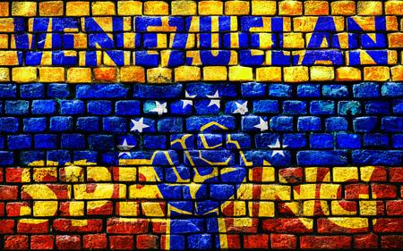 3D rendering for the Venezuelan Spring. Zdjęcie Seryjne