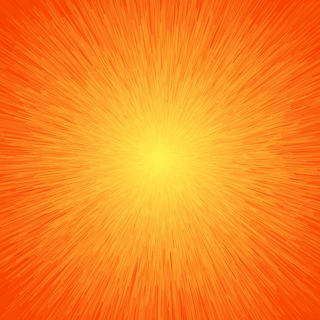 fire background: Energy Light Abstract Background In Orange Colors Illustration