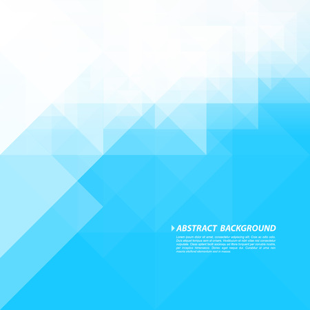 Abstract Geometric Blue And White Background