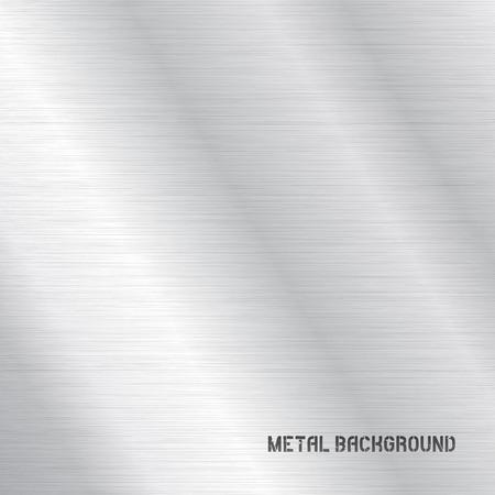 Fondo de la textura del metal del vector