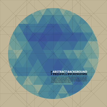 circle pattern: Abstract Geometrical Background
