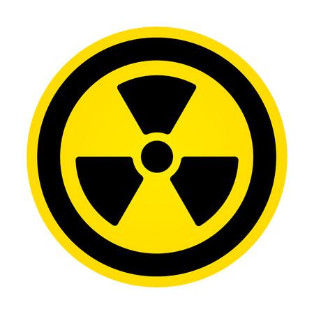 Hazard Radioactivity Sign Vector