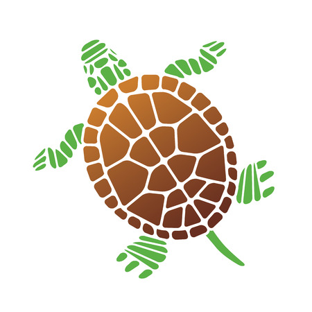 Turtle. Vector Illustration